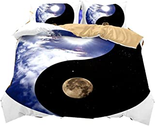 Ying Yang 2 Teiliges Kissenbezugs Set Industrielles Design