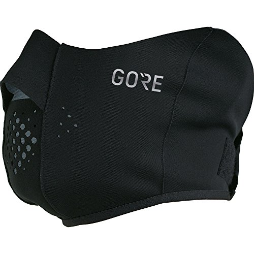 GORE Wear Winddichter Unisex Gesichtswärmer, M WINDSTOPPER Face Warmer, Größe: ONE, Farbe: Schwarz, 100383