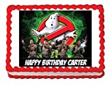 Ghostbusters edible party cake topper decoration frosting sheet image by Unknown