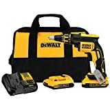 Dewalt DCF620D2R 20V MAX XR Cordless Lithium-Ion Brushless Drywall Screwgun Kit (Renewed)