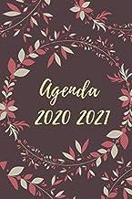 Agenda 2020 2021: Agenda giornaliera 12 mesi, Diario scolastico, Agenda settimanale, formato A5, calendario, programma,scuola, agenda universitaria ... orario lezioni, organizer (Italian Edition)