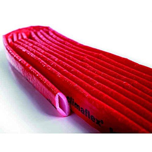 """Tuyau de protection """"Lima"""", (Gaine isolante pour le chauffage, 15 x 4 mm), 10 mètre de long"""