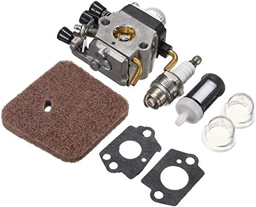 Reemplazar el carburador del Motor Parte for Spark FS55R FS55RC km55 HL45 KM55R Condensador de Ajuste del carburador Carb Filtro de Aire Juntas del carburador multifunción Carb Kits de reconstrucción