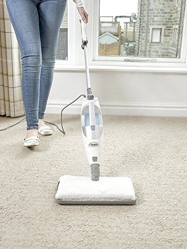 Shark S2901UKCO Multifunction Lite Steam Pocket Mop (with Extra Microfibre Pockets)