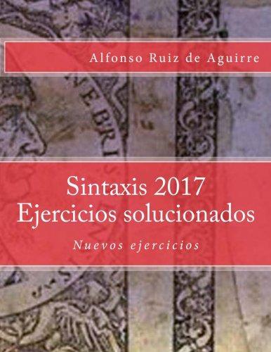 Sintaxis 2017 Ejercicios solucionados