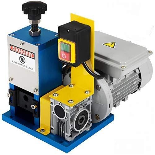 VEVOR Máquina Peladora de Cables Automática 220V Máquina Pelacable Industrial 1.5mm - 25mm para Varios Tipos de Cable Redondo y Cable Plano con Cuchillo (Máquina de Pelacable con herramienta)
