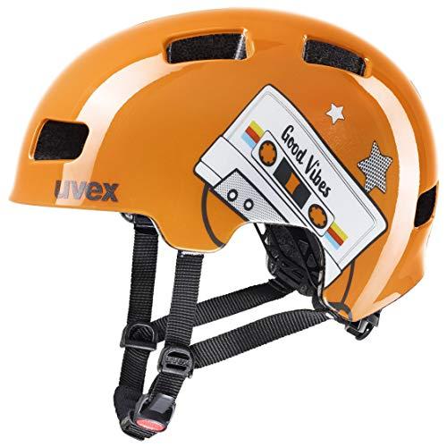 Uvex Unisex Jugend, hlmt 4 Fahrradhelm, orange, 55-58 cm