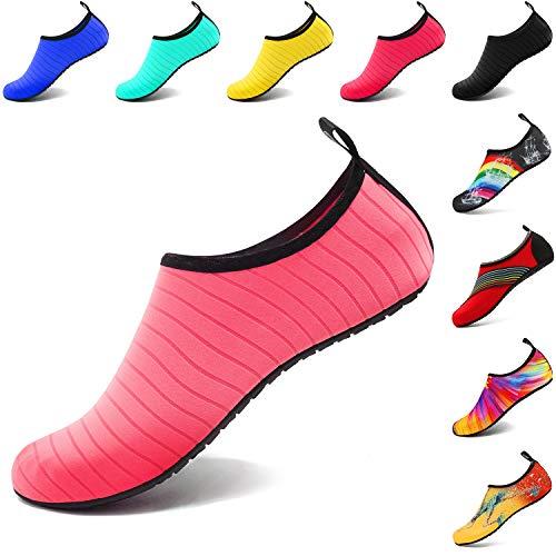 VIFUUR Water Sports Unisex/Kids Shoes Pink - 7.5-8.5 W US / 6-7 M US (38-39)