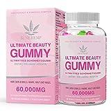 Hair Vitamin Gummies - 15,000mcg Biotin Gummies, Hair Skin and Nails Multivitamin Gummy for Women,...
