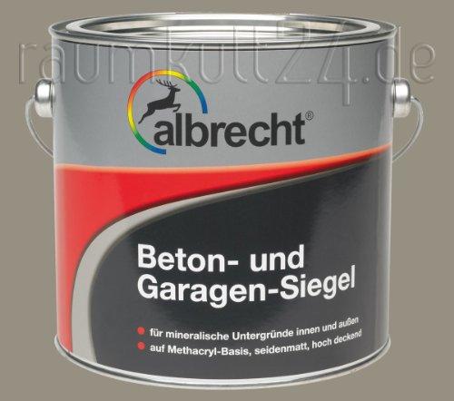 albrecht Beton- und Garagen-Siegel (Steingrau, 10 Liter)