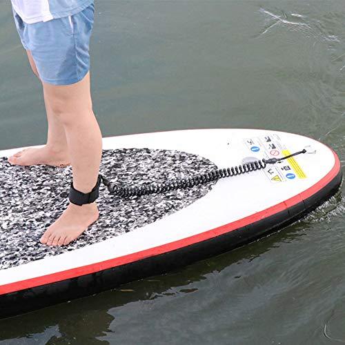 alsu3luy02Ld - Tobillera en Espiral de Poliuretano termoplástico (TPU) para Tabla de Surf