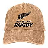 Blacaboer Shop New Zealand Rugby Casquette Classic Cotton Adjustable Baseball Plain Cap Custom Hip Hop Dad Trucker Snapback Hat Natural One Size
