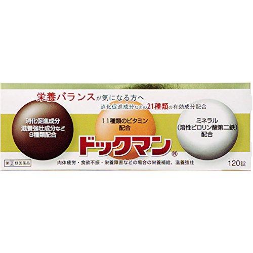 【指定第2類医薬品】ドックマン 120錠
