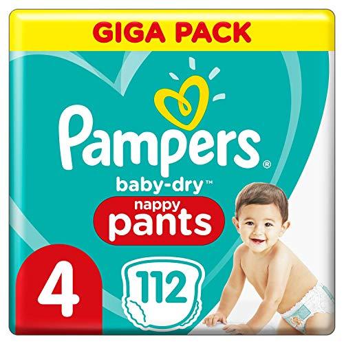 Pampers 81714239 Baby-Dry Pants windelhose, weiß, Größe 4