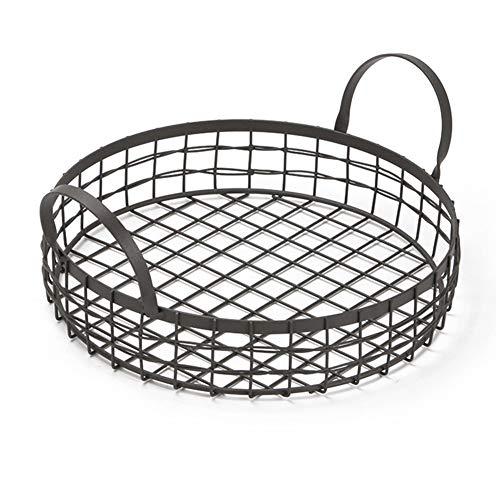`Star Empty Fruteros de Cocina Modernos de Mesa Durable Multifuncional Bread Basket Cocina Frutas Almacenamiento Drenaje Cesta con asa