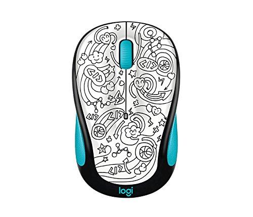 Logitech M325c Wireless Mouse Brainstorm Teal