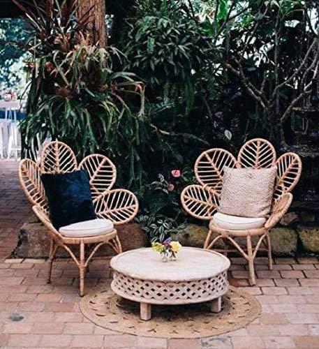 Handmade Rattan Bamboo Chair, Rattan chair, mid century, modern, mid century chair, vintage chair, bohemian, wicker chair