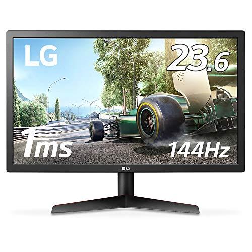 LG ゲーミング モニター ディスプレイ 24GL600F-B 23.6インチ/1ms/144Hz/フルHD/TN非光沢/FreeSync/HDMI×2,...