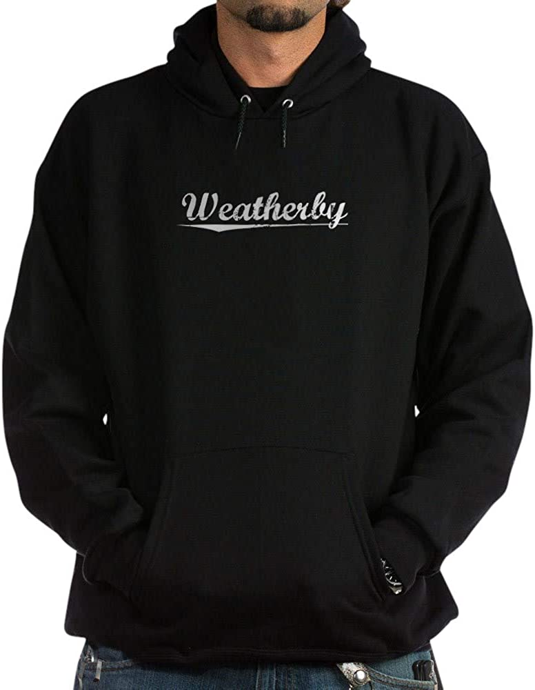 CafePress Aged Now free shipping Weatherby Sweatshirt New mail order Hoodie Dark