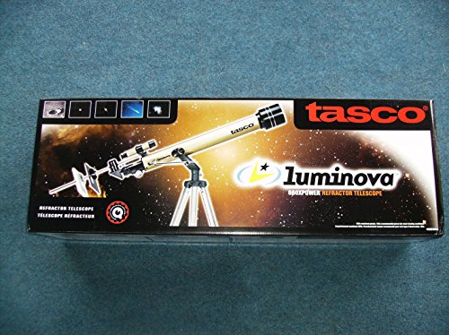 Tasco Luminova 660x60MM Refractor Telescope NIB Never Opened