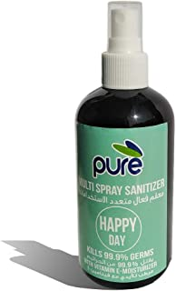 PURE MULTI SPRAY SANITIZER, 250ML - FOR ALL SURFACES, DUBAI MUNICIPALITY CERTIFIED WITH EFFICIENCY OF 99.999%…