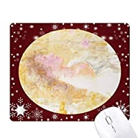 xjj油絵風に オフィス用雪ゴムマウスパッド