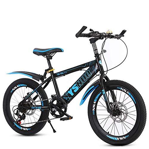 BXZ Fahrrad Kinder 'S Mountainbikes, Student Dual Disc Bremsen, 6-13 Jahre alte Jungen und Mädchen 20 Zoll 22 Zoll Jugendfahrräder, 22 Zoll,20 Zoll