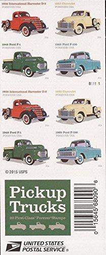 US Stamp - 2016 Pickup Trucks - 20 Forever Stamp Booklet #5101-4