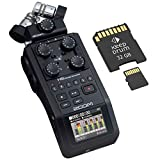 Zoom H6 Black Grabadora de audio portátil + Tarjeta de memoria de 32 GB