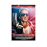 WETUO Terminator Filmposter, dekoratives Gemälde,