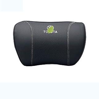 TPHJRM Car Neck Pillow Headrest Car Neck Pillow Memory Foam Cushion Headrest Waist Support Pad Accessories, for Toyota Ram...