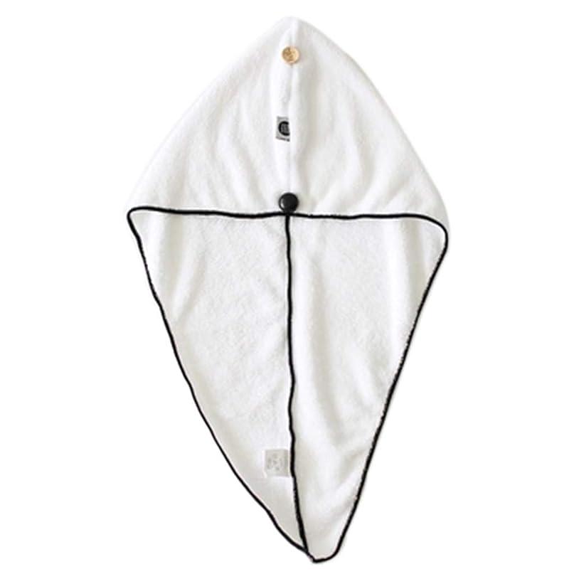 真似る稼ぐ息切れ帽子厚い乾いたヘアキャップ超吸収性シャワーキャップボタン固定大人厚い吸収性シャワーキャップ乾いた髪アーティファクト速乾性フード (Color : WHITE, Size : 25*65CM)