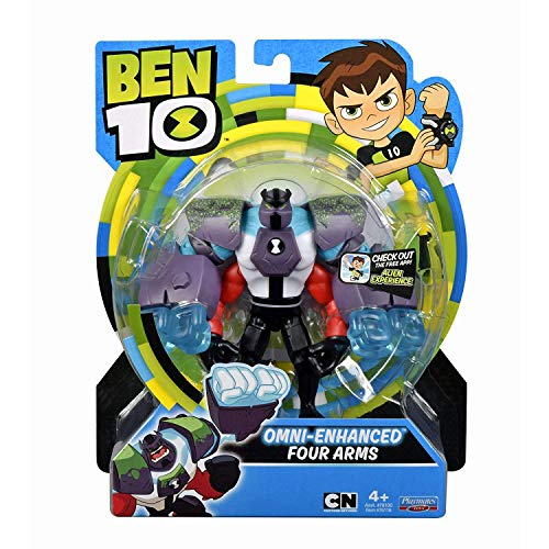 Ben 10 Omni-Enhanced Four Arms Action Figure