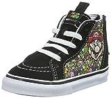 Vans Infants Sk8-Hi Zip (Nintendo) Mario/Luigi Skate Shoe 5 Infants US
