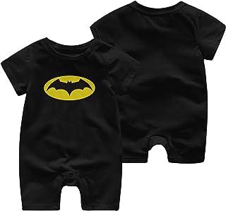 Batman Body à manches courtes pour nouveau-né fille garçon