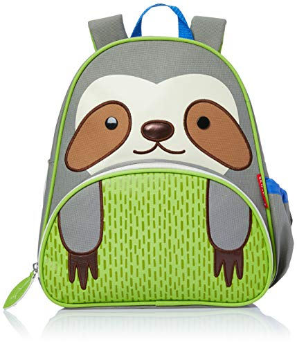 Skip Hop Zoo Little Kids Backpack, Sage Sloth