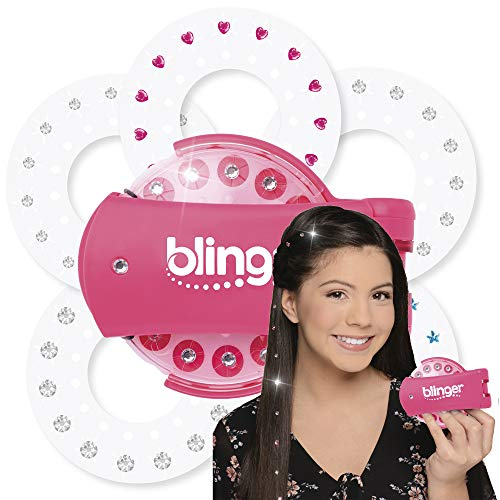 Blinger - The New Glam Styling Tool - Load, Click, Bling - Hair, Fashion, Anything! (Assorted Colors) (Pink)