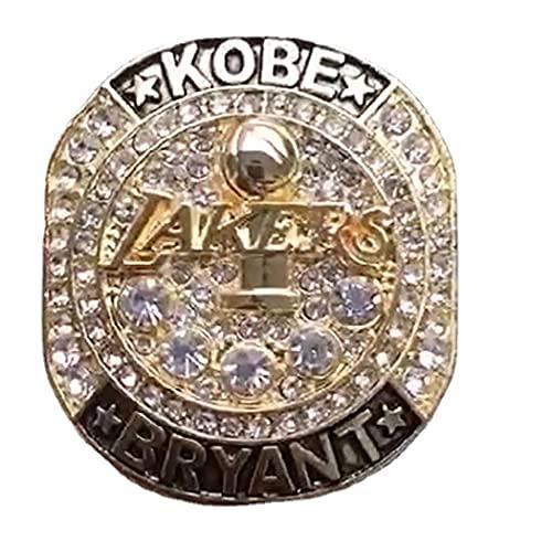 CLCL NBA 2019 Temporada Los Angeles Lakers Championship Anillo de Campeonato, Regalo de colección de Recuerdo de Abanico de Anillo de campeón, Regalo de Ring Ring Fans Día de San Valentín Regalo