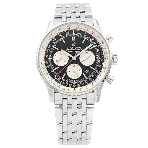 Breitling Navitimer 1 reloj automático de acero con esfera negra AB0127211B1A1