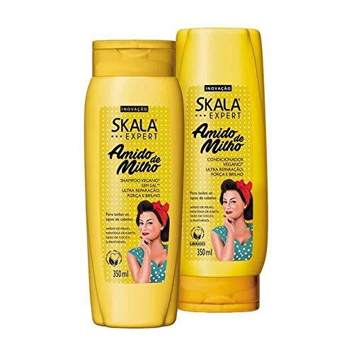 Kit Skala Shampoo 350ml+condicionador 350ml Amido De Milho