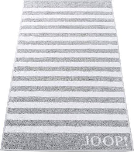 Joop! Handtuch Classic Stripes 1610 | 76 Silber - 50 x 100