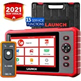 LAUNCH CRP909X Scan Tool OBD2 Scanner Full System Diagnostic Tool 15 Reset Functions Oil Reset, EPB, BMS, SAS, DPF, ABS Bleeding TPMS Auto VIN One-Click Update, EL-50448 Tool as Gift