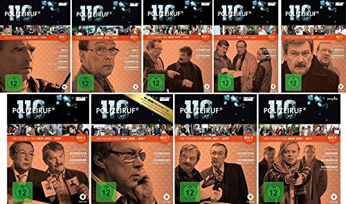 Polizeiruf 110 - MDR Box 1-9 im Set - Deutsche Originalware [29 DVDs]