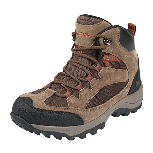Northside Men's Montero Mid Waterproof Hiking Shoe, Medium Brown, 10.5 M US