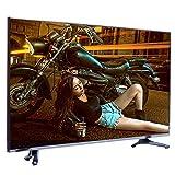 household items Smart TV de Pantalla Plana 4K LED Ultra HD,Pantalla Panorámica de Alta Resolución A Prueba de Explosiones Televisor LCD Delgado,Compatible con WiFi, HDMI, TV De Red USB