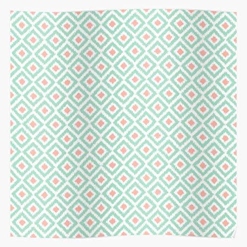 Pattern Popular Colorful Tribal Stylish Diamonds Ikat Chic Impresionantes carteles para la decoración de la habitación impresos con la última tecnología moderna sobre papel semibrillante