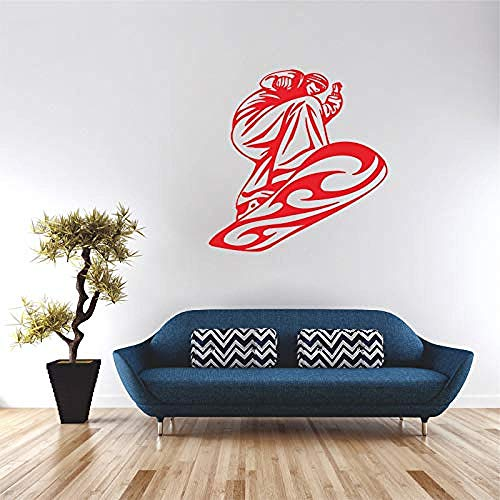 XYVXJ Wall Sticker  Slide Plate Skating Skate Tag Longboard Sports Kids Room Vinyl Sticker Decoration Mural 45X46Cm