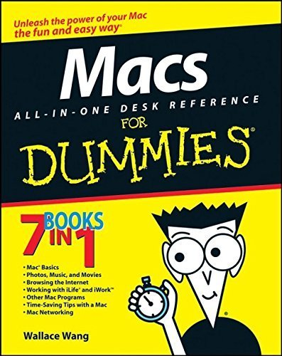 Macs All-in-One Desk Reference For Dummies (For Dummies (Computers)) by Wallace Wang (2008-02-26)