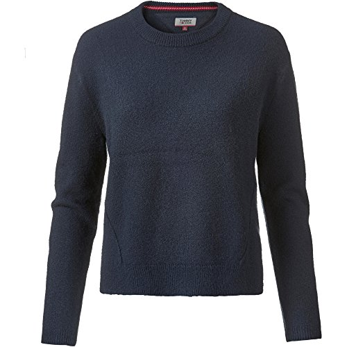 Tommy Hilfiger Basic Sweater suéter, Azul (Navy Blazer 416), XX-Small para Mujer
