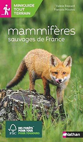 Miniguide tout terrain - Mammifères sauvages de France